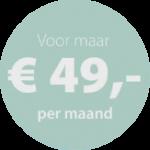 Vanaf € 49,- maand kunt u glimlachen met een nieuw kunstgebit van Dentalzorg. Meer weten?